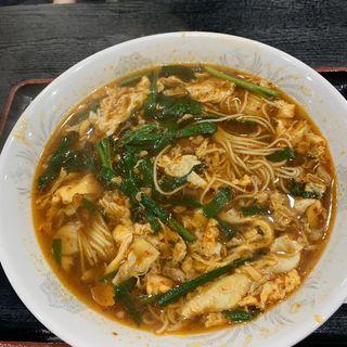 元祖辛麺(辛麺屋桝元 香椎店)