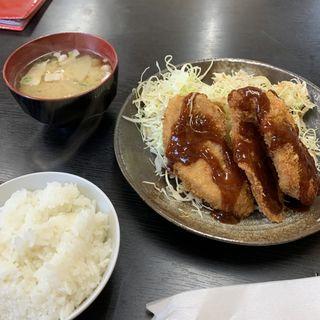 ヒレカツ定食(小)(とんかつ亭ひさやま )