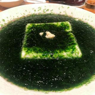 青のり豆腐(魚金 本店)