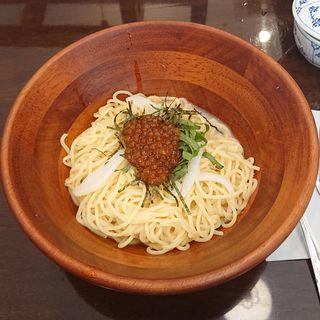 極旨海鮮 たらこ と いくら・紋甲いか(椿屋カフェ ラゾーナ川崎店)