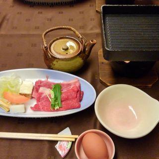 すき焼き(鷹泉閣 岩松旅館 (ようせんかく いわまつりょかん))
