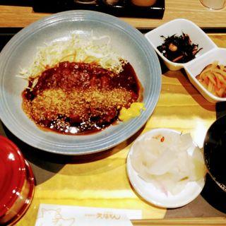 味噌カツ定食(みそかつ矢場とん)