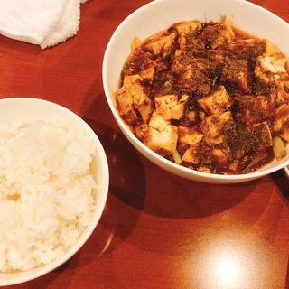 最強麻婆豆府ランチ(中菜Labo.朝陽 (チュウナラボチョウヨウ))