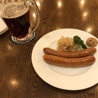 ソーセージ ビール(銀座ライオン GINZA PLACE店)