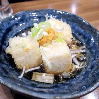 揚げ出し豆腐(立ち飲み 勝)