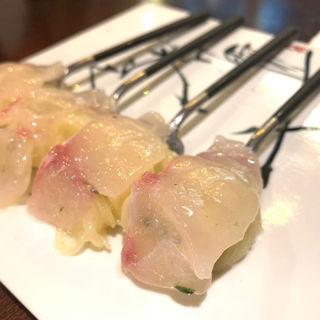 鮮魚のひとくちカッペリーニ