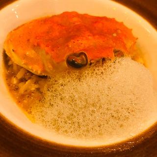 セイコ蟹のリゾット(セルサルサーレ (sel sal sale))