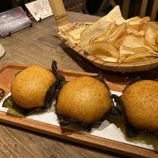 明太とろろいそべ揚げ(山芋の多い料理店 麻布十番)