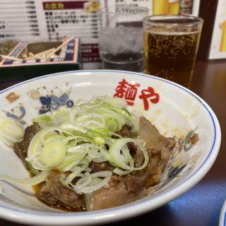 牛すじ(らー麺や (麺や))