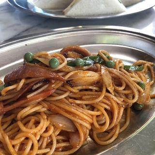 スパゲティ(イタリアン)(喫茶ドレミ)