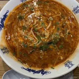 酸辣麺(中華麺キッチン スーラーメン まくり 空港店)