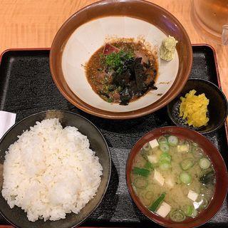 胡麻鯖定食(宝祥)