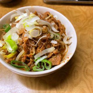 豚みそ煮定食(多津田食堂)