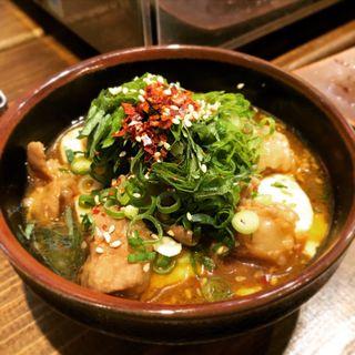 博多ホルモン豆腐(筑豊ホルモン ボタ山)
