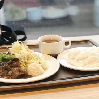牛肉と茄子味噌炒め(カフェ ダイニング 仲宿 (CAFE DAINING NAKAJUKU))