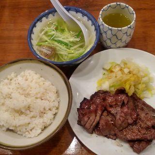 牛たん定食 4枚(旨味太助 (うまみたすけ))