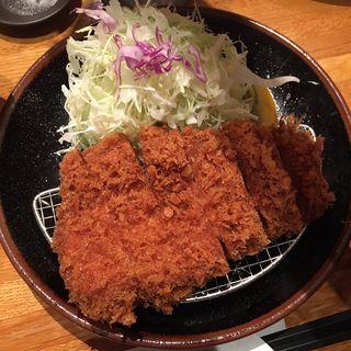 上ロース定食(とんかつ檍 横浜馬車道店)
