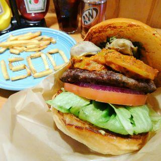インアサイレントウェイバーガー(The Burgerlion-バーガリオン)