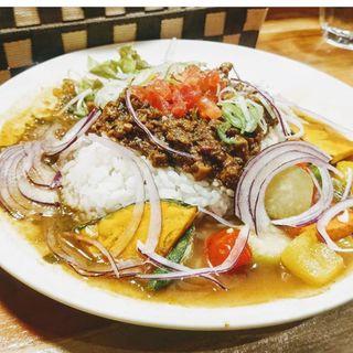 燻製鴨カレー(さぼてん食堂 )