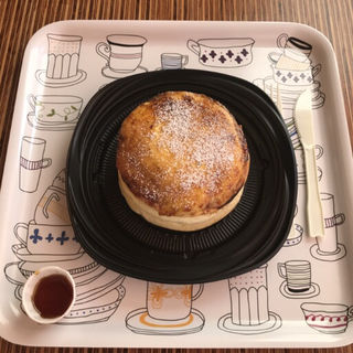 ブリュレパンケーキ(eggg Cafe 国分寺店)