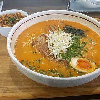 海老そば(タムラ食堂)