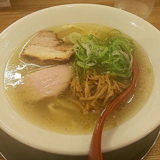 喜多方らーめん(塩)(麺や七彩)