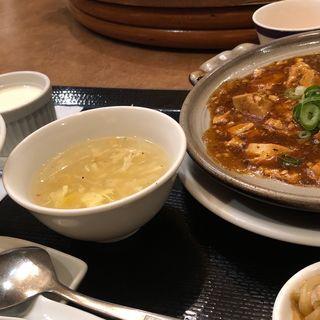 麻婆豆腐定食(湖陽樹 本町店)