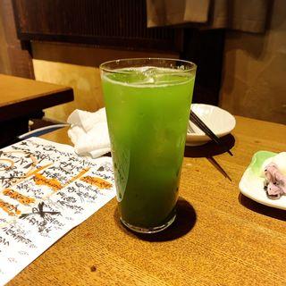 抹茶ハイ(なかめのてっぺん 本店 )