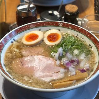味玉背脂煮干そば(セアブラノ神 壬生本店 )