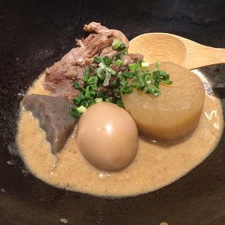 鳩太郎おでんポルチーニ茸ソース(筥崎 鳩太郎商店)
