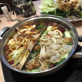 火鍋(天香回味 銀座中央通り店 (テンシャンフェイウェイ))