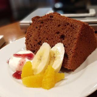 チョコレートシフォンケーキ(NIHONBASHI CAFEST (ニホンバシカフェスト))