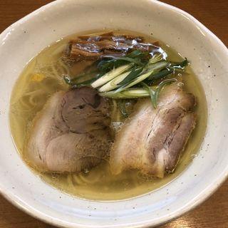 中華そば 鶏・豚 塩(中華そば うえまち)