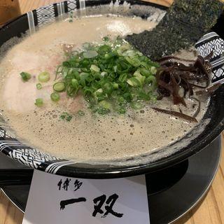 ラーメン(博多一双 祇園店)