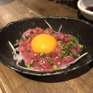 塩ユッケ(梅田 肉寿司)