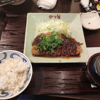 味噌ねぎかつランチ(かつ雅 高針店 )