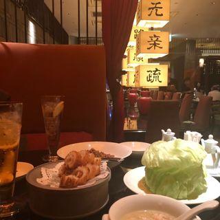 いかの天ぷら(広東料理 民生 ヒルトンプラザウエスト店 (みんせい))