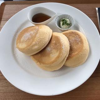 夢みるパンケーキ プレーン(ニノーバルウォッシュカフェ 吹田紫金山店 (ninOval wash cafe))