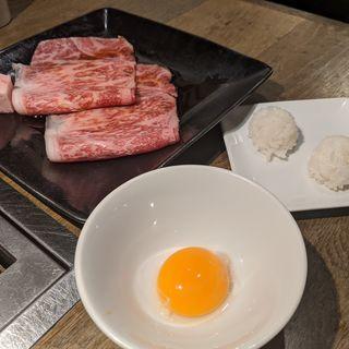 トロ肉3秒炙り(ushihachi 武蔵小杉店)