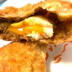 半熟卵のカレーパン(天馬 )