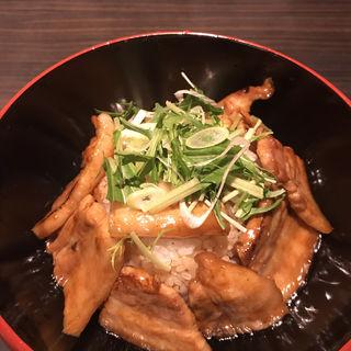 ばら肉ぶた丼(豚料理専門店 銀呈 (【旧店名】豚公司 銀呈))