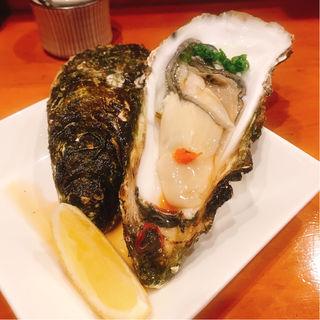 生牡蠣(居酒屋鳥のぶ )