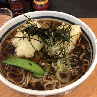 揚げ餅そば(蕎麦一心たすけ大門店)