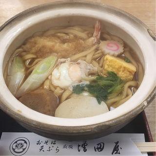 鍋焼きうどん(そば処増田屋)