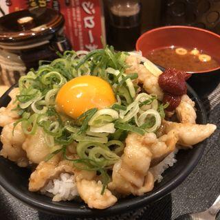 大阪ホルモン丼(牛かつ専門店 日本橋 富士 )