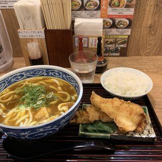 とり天カレーうどん(味味香 京都ポルタ店)