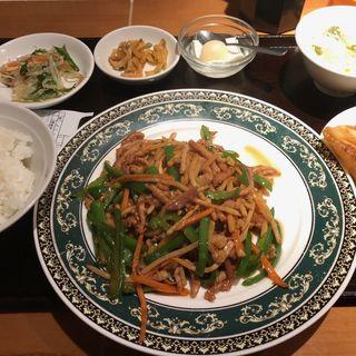 青椒肉絲定食(一味玲玲 品川店 )