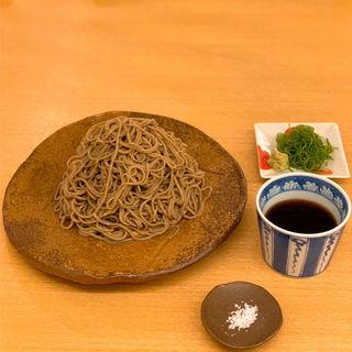 盛り蕎麦(冷) 黒(挽きぐるみ) 1斤半(蕎麦屋 香月)