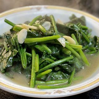 青菜炒め(娘娘飯店)
