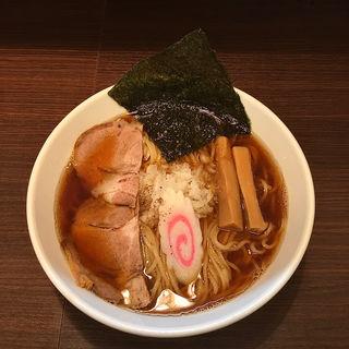 嘉六しょうがつけ麺 (ラーメンversion)